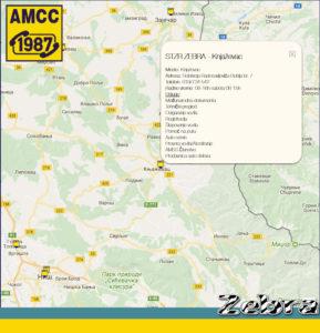 Lokacija AMSS Knjazevac