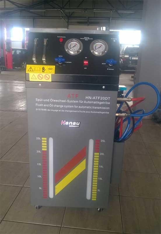 masina za automatsku zamenu ulja u menjacu